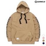 [앨빈클로] AVH-168 크림도넛 후드 티셔츠