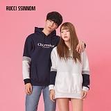 [루찌씬놈]Rucci Ssinnom - 후드티 SHP108 (2color)(기모) 자수 풀오버 후드 후드티 스��셔츠