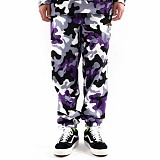 VETEZE - TEZE CAMO PANTS_SUPER VIOLET 카모 조거팬츠