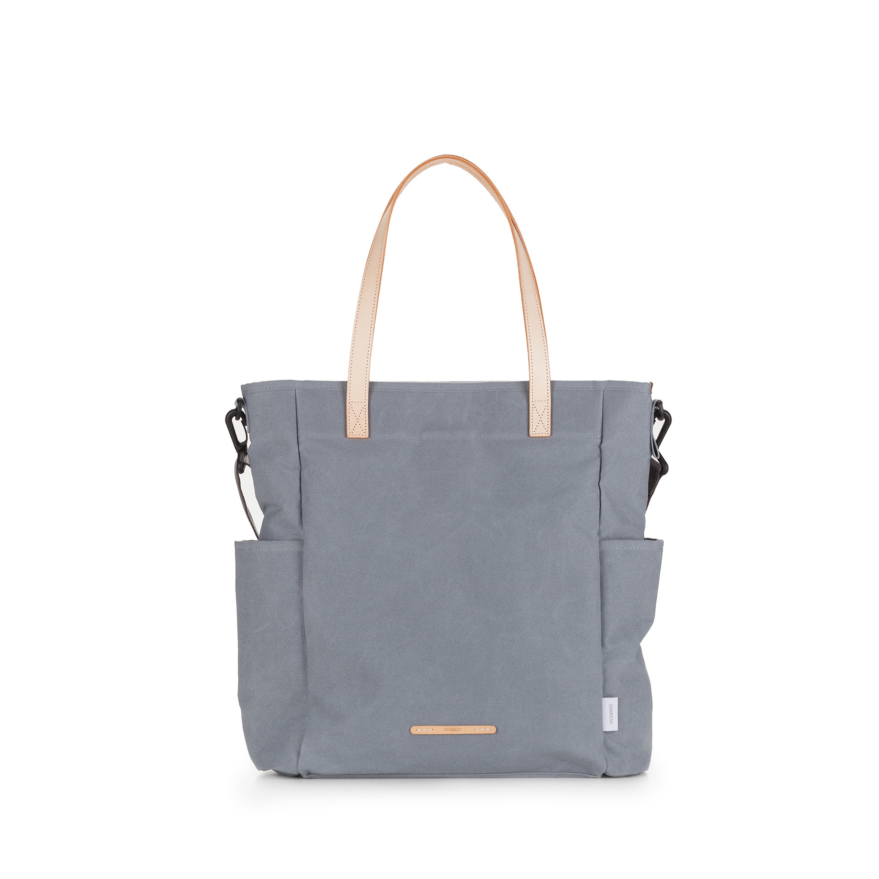 [로우로우] LONG TOTE 501 WAX COTNA GREEN GRAY