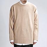 [쟈니웨스트] JHONNYWEST - Light Cable Knit (Beige) 니트