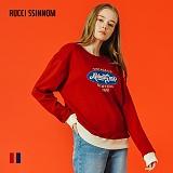 [루찌씬놈]Rucci Ssinnom - 맨투맨 SNM106 (2color)(기모) 올드스쿨 레트로 자수 스��셔츠