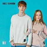 [루찌씬놈]Rucci Ssinnom - 맨투맨 SNM113 (2color)(기모) 무지 스��셔츠