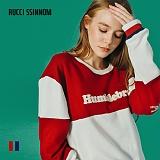 [루찌씬놈]Rucci Ssinnom - 맨투맨 SNM117 (2color)(기모) 올드스쿨 레트로 자수 스��셔츠