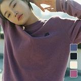 [언리미트]Unlimit - Fluff Crewneck (U17DTTS59) 플러프 크루넥 맨투맨 스��셔츠