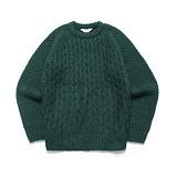 라퍼지스토어 - (Unisex) Candy Alpaca Knit_Deep Green 알파카 니트 스웨터