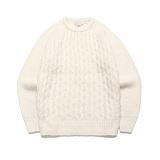라퍼지스토어 - (Unisex) Candy Alpaca Knit_Ivory 알파카 니트 스웨터