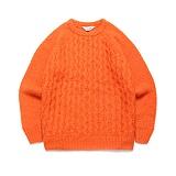 라퍼지스토어 - (Unisex) Candy Alpaca Knit_Orange 알파카 니트 스웨터