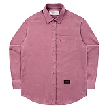 [언더에어] UNDERAIR 16W Corduroy Shirts - Indipink 긴팔 코듀로이셔츠 남방