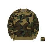 [언리미트]Unlimit - Camo Crewneck (U17DTTS57) 우드랜드 크루넥 맨투맨 스��셔츠