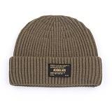 [에시드블랙] ACIDBLACK - ACID WACTH CAP (CAMEL) 모자 비니 와치캡