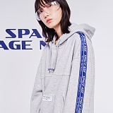[스페이스에이지] SPACE AGE -  미션 스페셜리스트 후드 (그레이)