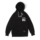 앱놀머씽 - Day Tripping Hood (Black) 후드티셔츠