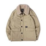 앱놀머씽 - Sherpa Deck Jacket (Beige) 양털 덱자켓