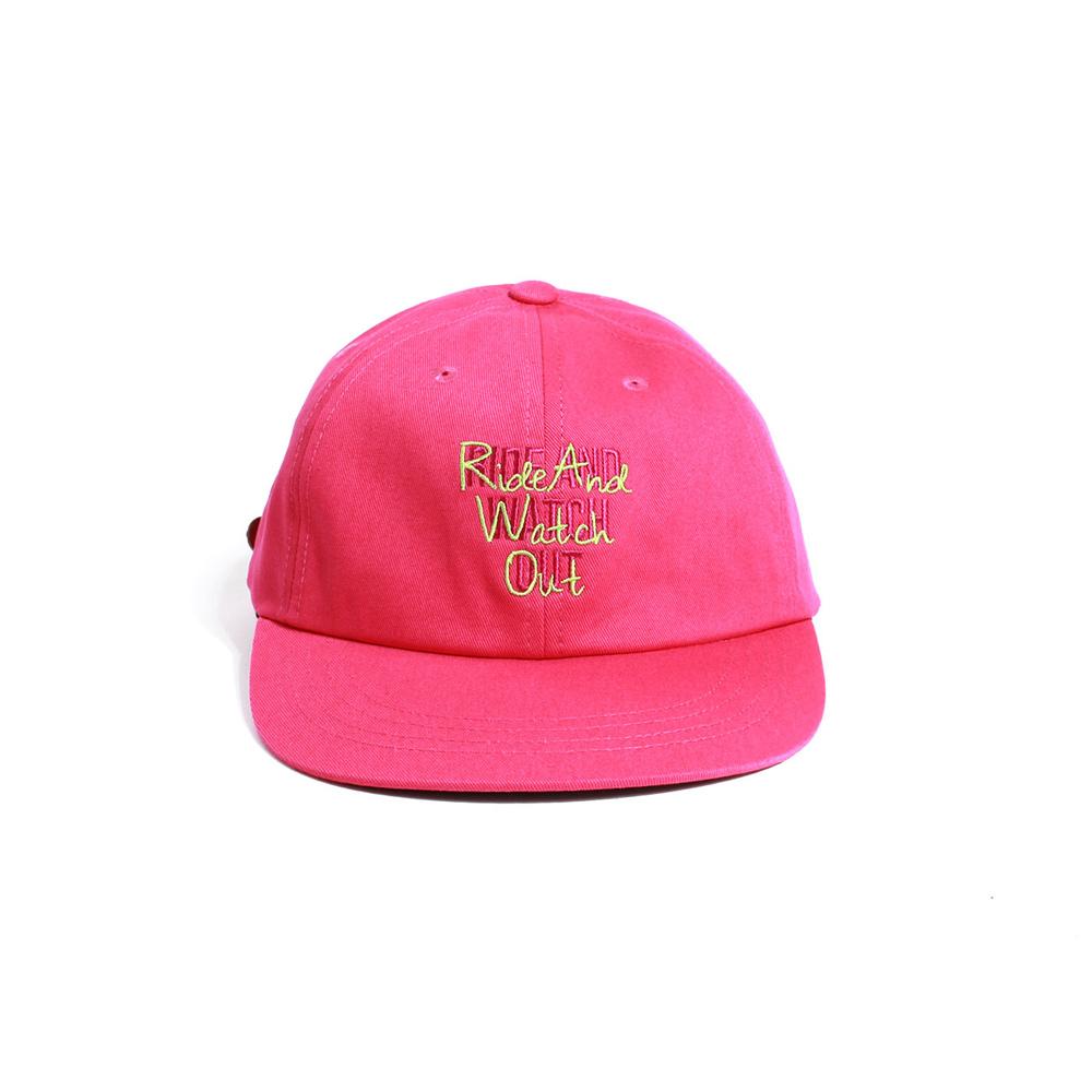 [티엔피]TNP RAWO BALL CAP - PINK 볼캡 야구모자