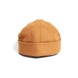 [티엔피]TNP RUBBER STRAP WATCH CAP - MUSTARD 비니 와치캡