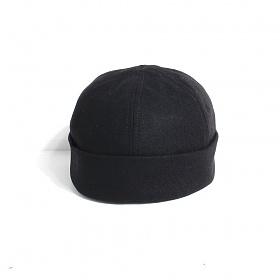[티엔피]TNP RUBBER STRAP WATCH CAP - BLACK 비니 와치캡
