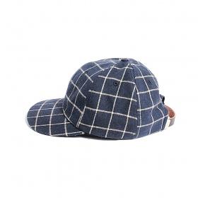 [티엔피]TNP MODERN CHECK BALL CAP - NAVY 볼캡 야구모자
