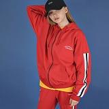 [에이비로드]Premium Oversize Zip Jacket (red) 후드 트랙 자켓