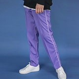 [에이비로드]Side Line Track Pants (purple) 트랙 팬츠
