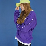 [에이비로드]Signature Logo Sweat Shirt (purple) 맨투맨