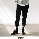 [11월24일 예약발송][어커버]ACOVER - [기모] Jogger Cotton Pants 조거팬츠 조거 바지