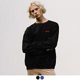 [어커버]ACOVER - NAPE LINE SWEATSHIRTS 넥포인트 맨투맨 크루넥 스��셔츠