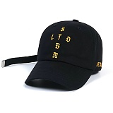 STIGMA - VATOS BASEBALL CAP BLACK 야구모자 볼캡
