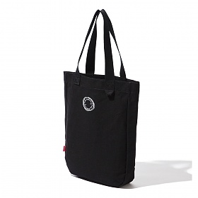 [디얼스]THE EARTH - CIRCLE ECO BAG - BLACK 에코백