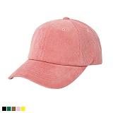 뉴해빗 - 무지 코듀로이 골덴볼캡 - 핑크 야구모자