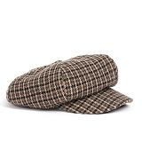 와일드브릭스 - WOOL NEWSBOY CAP (brown) 울혼방 뉴스보이캡
