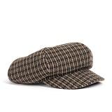 와일드브릭스 - WOOL NEWSBOY CAP (khaki) 울혼방 뉴스보이캡
