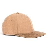 와일드브릭스 - WOOL CAP (beige) 울혼장 캡 코듀로이