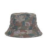 와일드브릭스 - CAMO BUCKET HAT (khaki) 카모 버킷햇