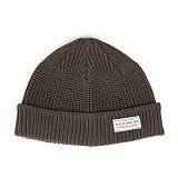 와일드브릭스 - MARINE WATCH CAP (khaki) 워치캡 비니