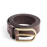 와일드브릭스 - CLASSIC LEATHER BELT (vintage brown) 클래식 소가죽벨트