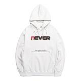 [네버에버] NEVEREVER - 3D EVER HOODY (WHITE) 기모 후드 후드티