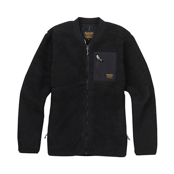 [버튼]BURTON - GROVE FLEECE FULL ZIP (True Black) 버튼코리아 정품