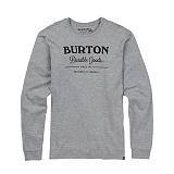 [버튼]BURTON - DURABLE GOODS LONG SLEEVE (Gray Heater) 버튼코리아 정품