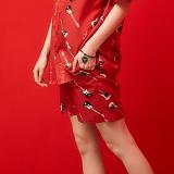 [피피피]PPP -RL PATTERN SHORT PANTS (RED)