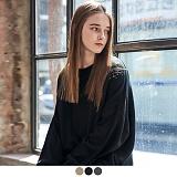 [어커버]ACOVER - BASIC CREWNECK SWEATER 스웨터 니트티 니트