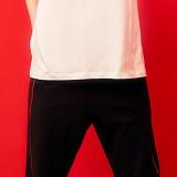 [피피피]PPP -TRACK SHORT PANTS (BLACK/RED)