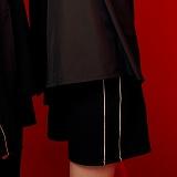 [피피피]PPP -TRACK SHORT PANTS (BLACK/WHITE)