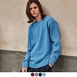 [어커버]ACOVER - TOWEL CREWNECK SWEATER 스웨터  니트니 니트