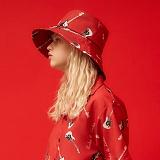 [피피피]PPP -RL WIDE BUCKET HAT (RED)