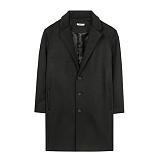 [에이비로드]프리미엄 싱글 오버 코트 (black)
