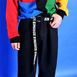 [깅엄버스]GINGHAMBUS - King Size over belt (2color) 레터링벨트 꼬리벨트 롱벨트 우븐벨트
