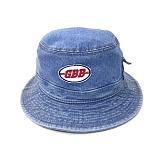 [깅엄버스]GINGHAMBUS - GBB Denim Bucket Hat 데님 버킷햇 벙거지
