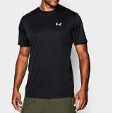 언더아머 기능성 로고 반팔 티셔츠 1270502_001 블랙 남녀공용 UnderArmour 정품 국내배송