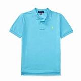 폴로랄프로렌 보이즈 반팔 카라티셔츠 043 스카이블루 남녀공용 Polo Ralphlauren 정품 국내배송